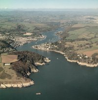 River Dart from the Air
