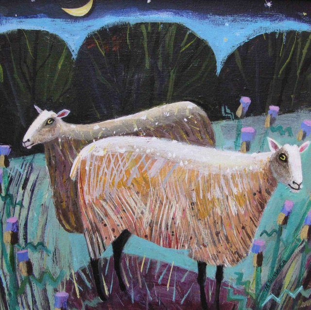 Mary Sumner night sheep