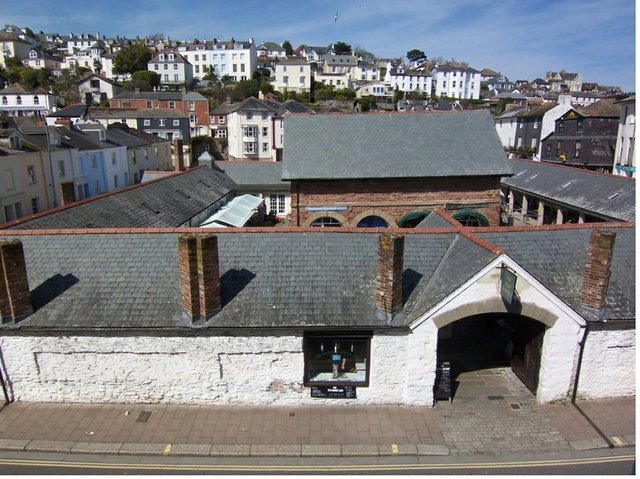 Market View, Dartmouth from Blueriver Cottages
