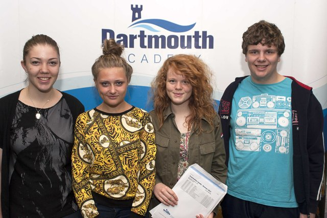 Dartmouth Academy Students Celebrate Improved GCSE Results