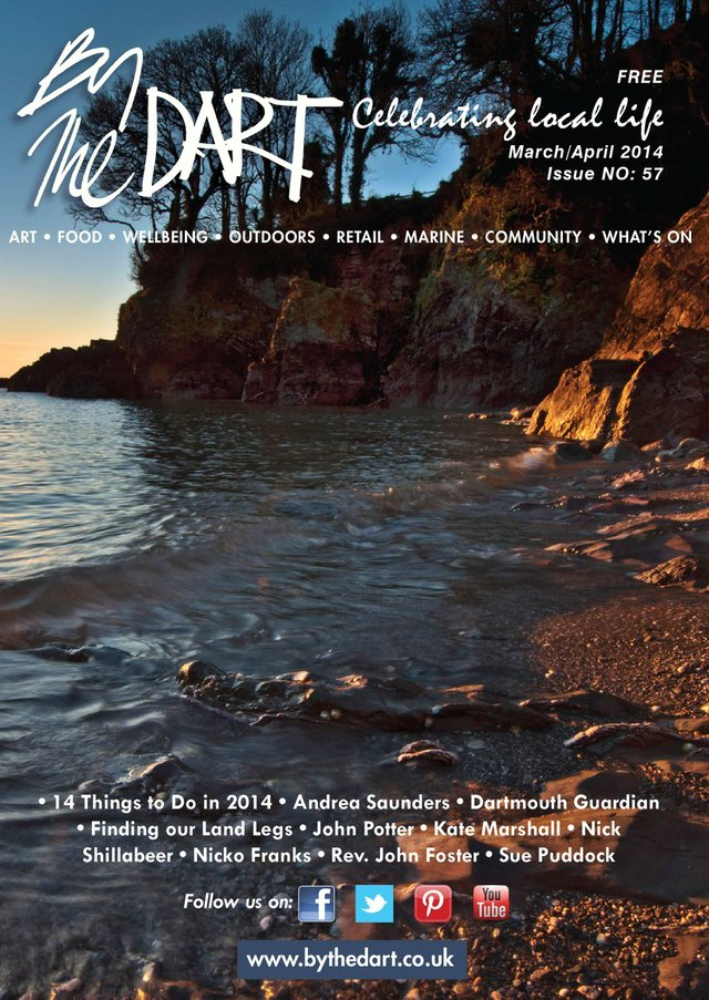 By The Dart March 2014 Front Cover