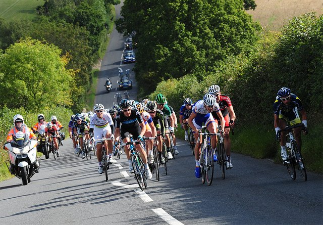 The Tour of Britain Comes to Dartmouth