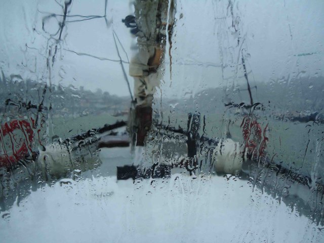 A Storm on the River Dart