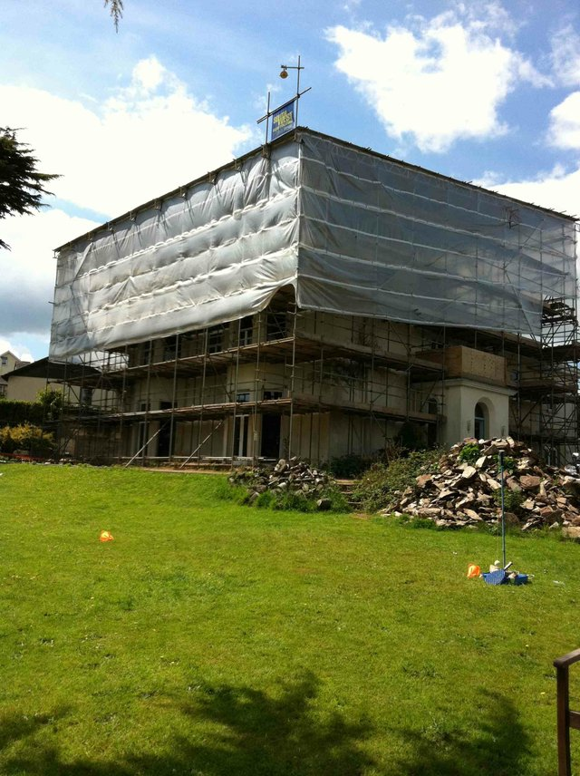 Barrington House - the revamp begins