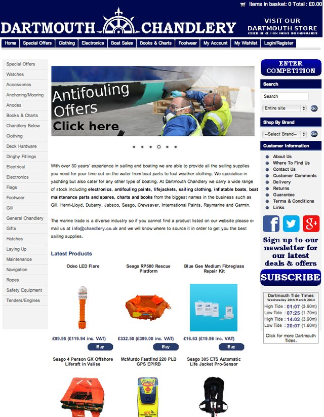 www.chandlery.co.uk