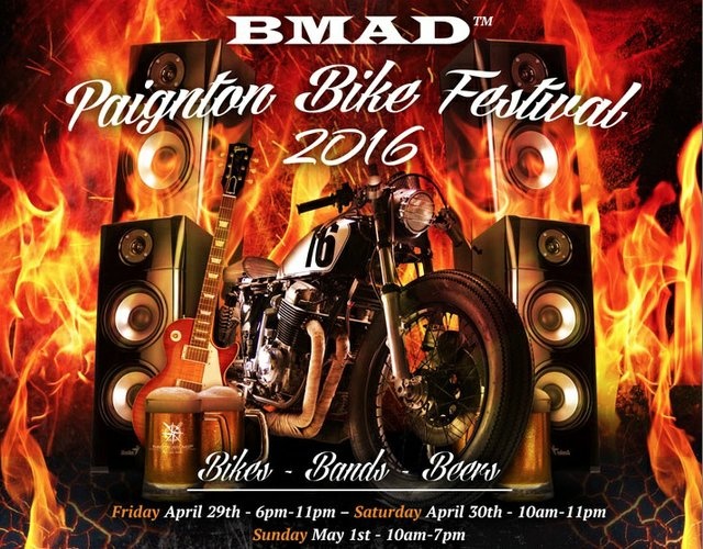 BMAD Motorbike Festival, 29 April - 1 May