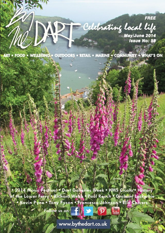 By The Dart May 2014 front cover