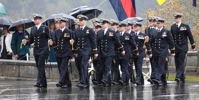 Lord High Admiral's Divisions takes place at BRNC