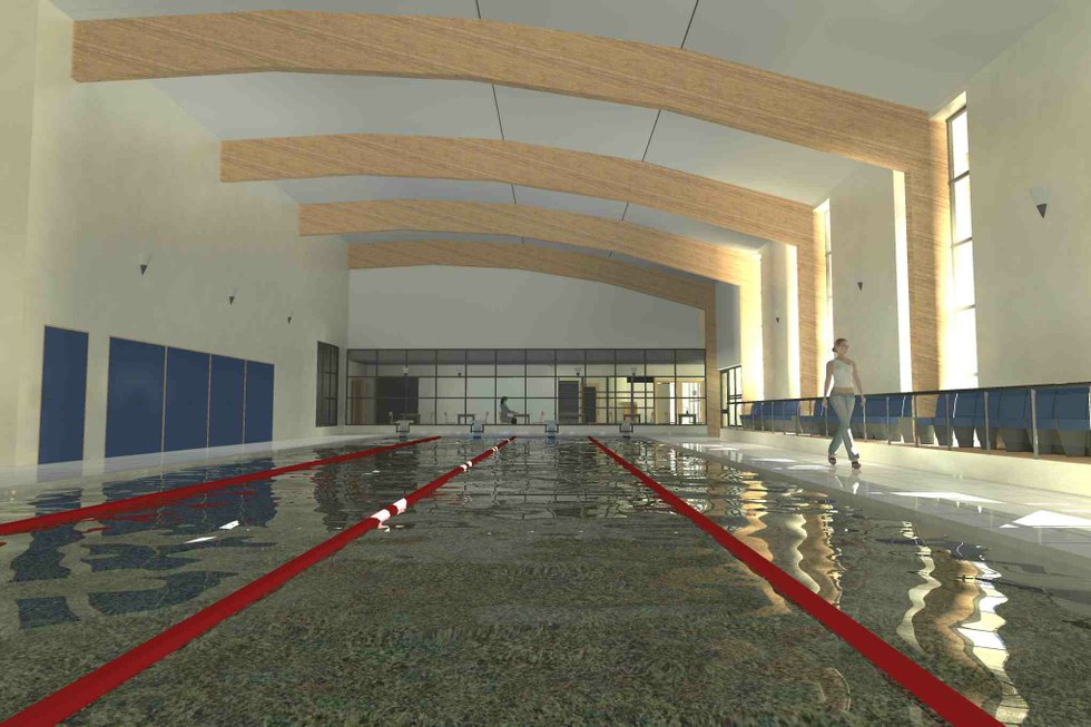 Dartmouth Indoor Swimming Pool By The Dart