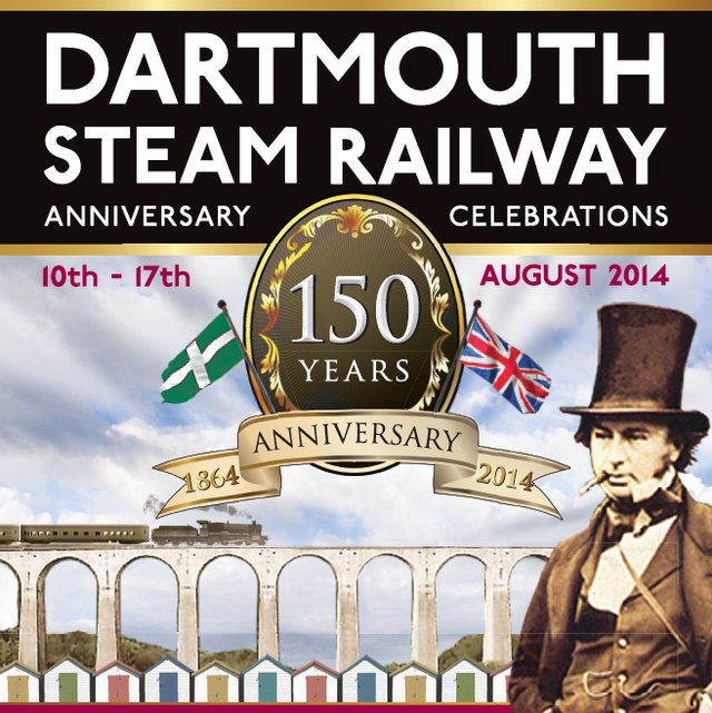 DArtmouth Railway - 150 Year Celebrations