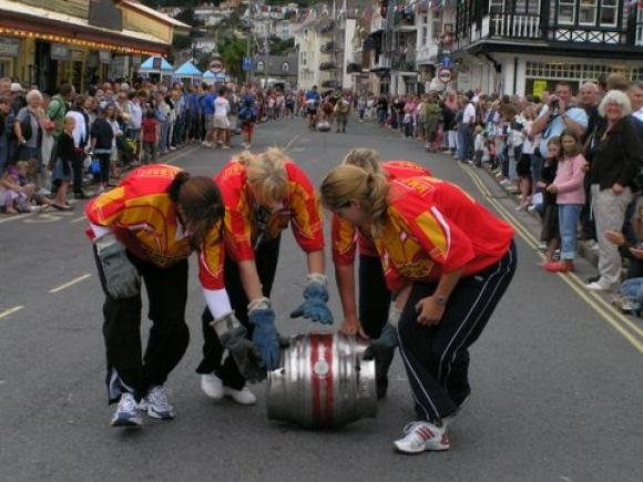 Regatta Barrel Rolling