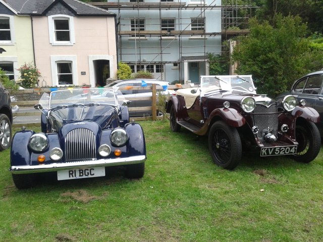 Around Kingswear August 2014 Classic Cars