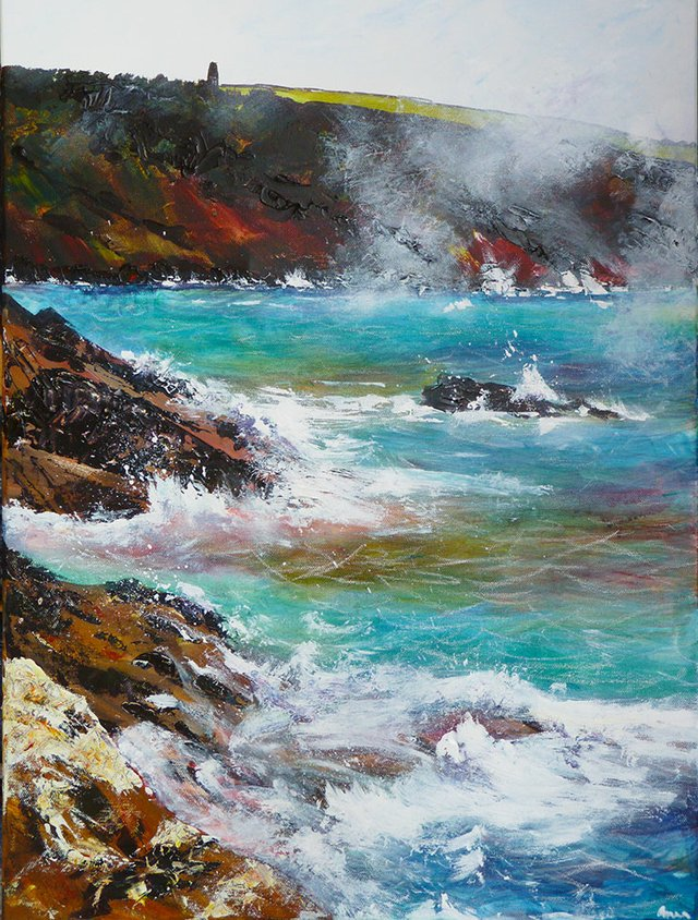 Dartmouth Coastal Path by Anna Duckworth