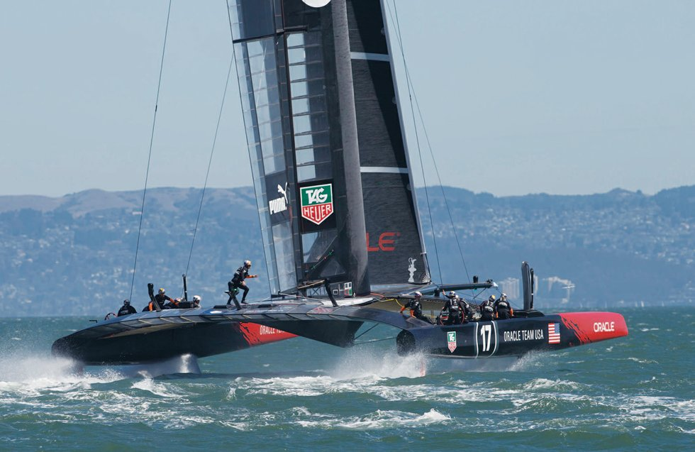 Nick Hutton - Americas Cup