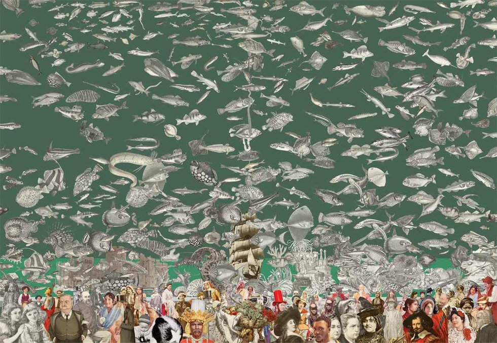 'Aquarium' by Sir Peter Blake