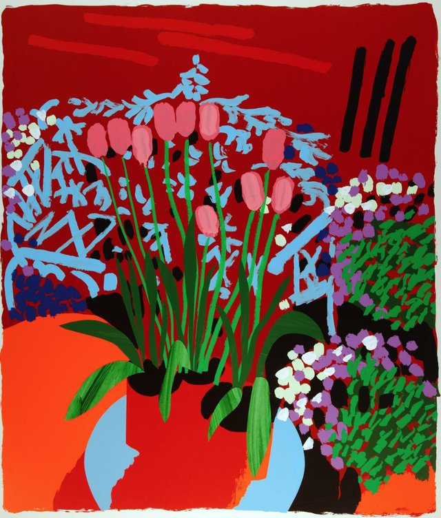 'Tall Dutch Tulips High' by Bruce Mclean