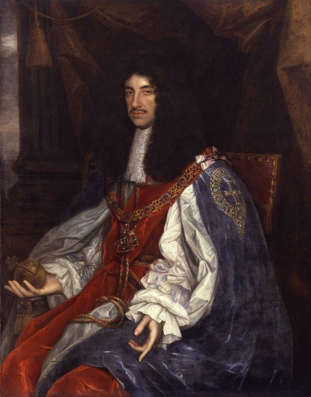 King Charles II - by John Michael Wright