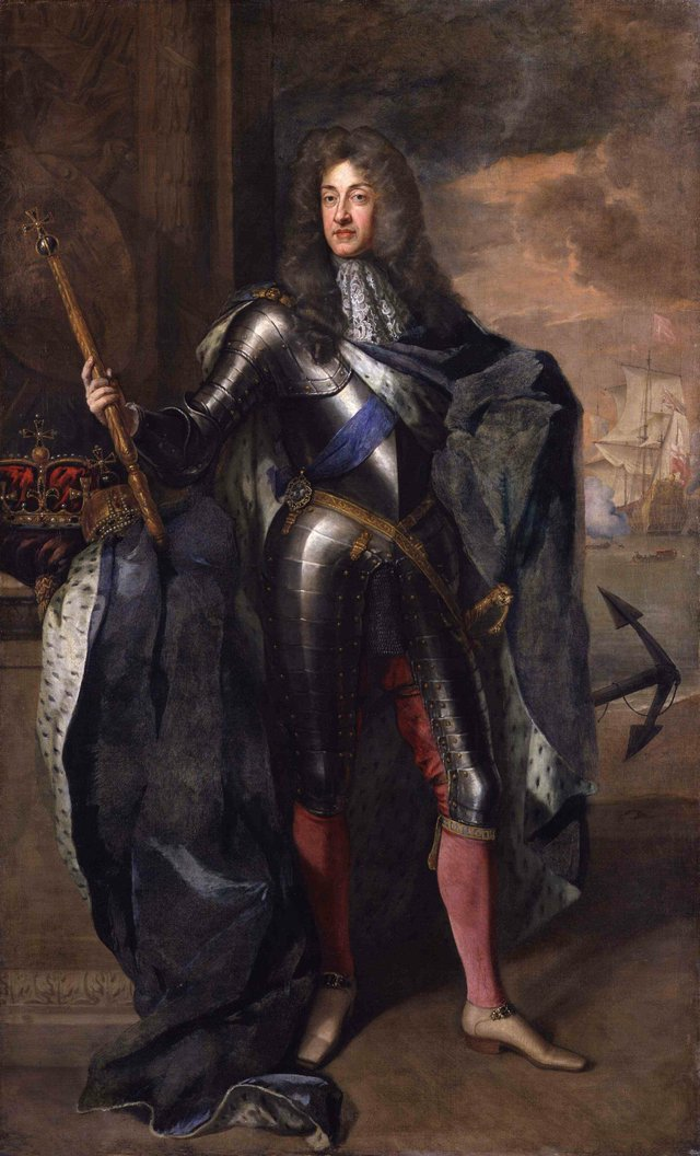 King James II - by Sir Godfrey Kneller