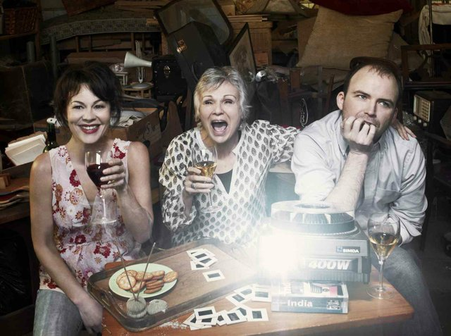 Helen McCrory, Julie Walters & Rory Kinnear in The Last of the Hausmanns by Stephen Beresford