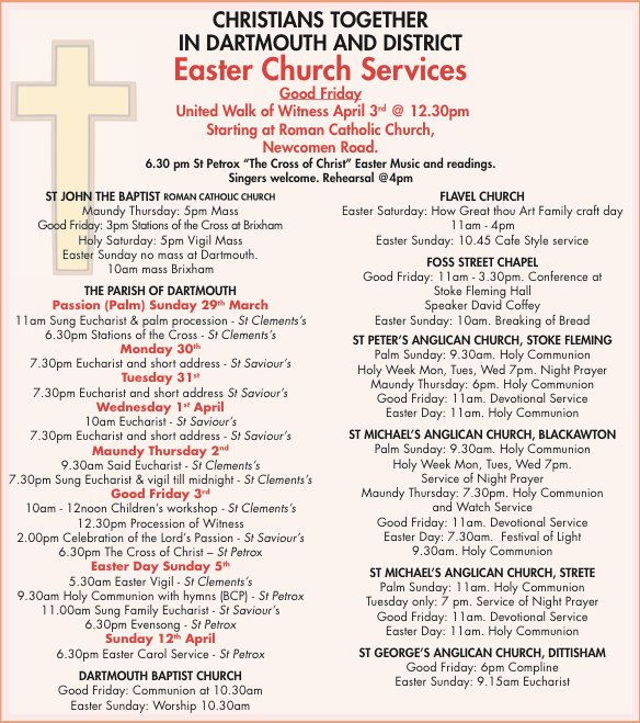 Easter Church Services 2015