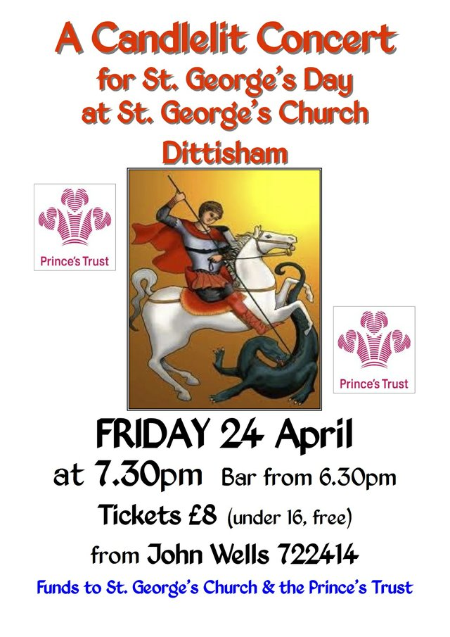 St Georges Day Candlelit Concert