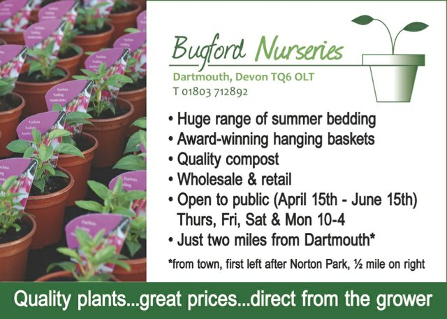 Bugford MArch 2015 advert