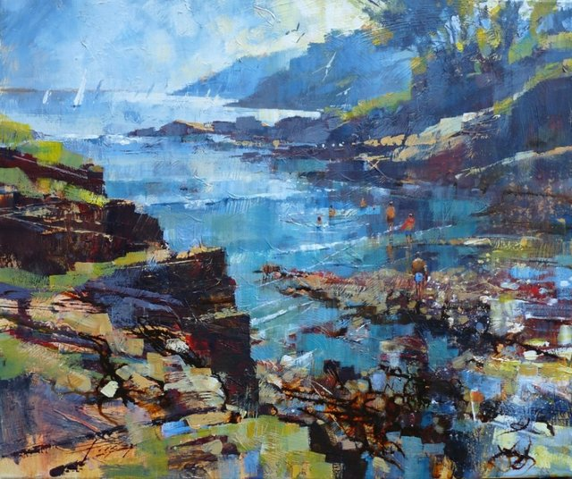 Chris Forsey - A dip in the shallows.jpg