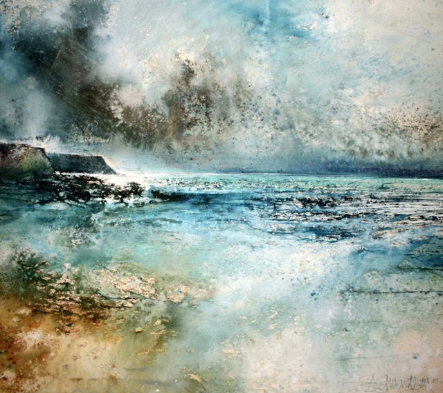 Stewart Edmondson - And a Wild God 56 x 63.jpg