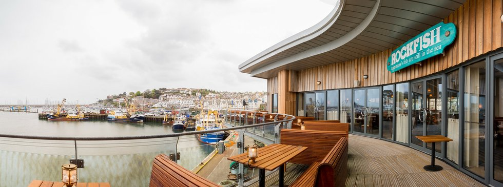 rockfish opens new restauarant in brixham   by the dart