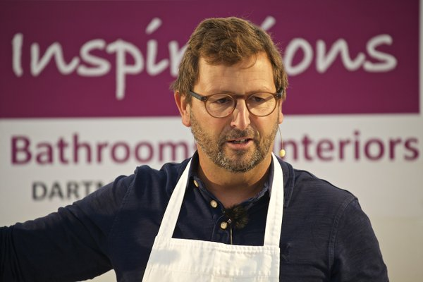 Mitch Tonks at Dartmouth Food Festival 2015