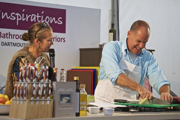 Orlando Murrin at Dartmouth Food Festival 2015