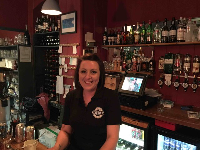 Becky Marsh, Front of House Manager at Kendricks.