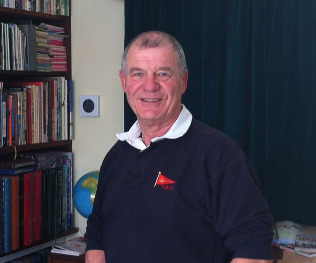 Clive Bennett, Commodore of the Royal Dart Yacht Club