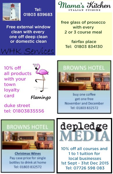 Dartmouth's Loyalty Cards - Latest Offers! KEEP IT LOCAL