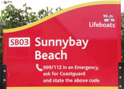 Beach safety RNLI