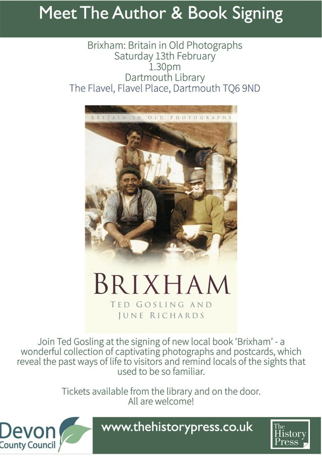 Meet The Author - Brixham: Britain in Old Photographs
