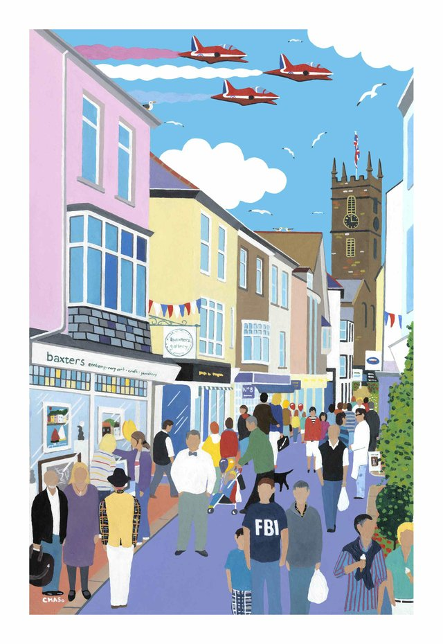 Foss Street by Chas Jacobs