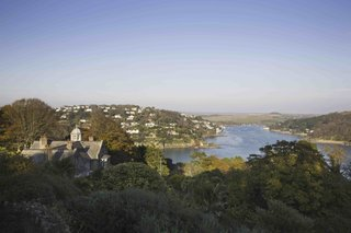 Overbecks - view over Salcombe Estuary