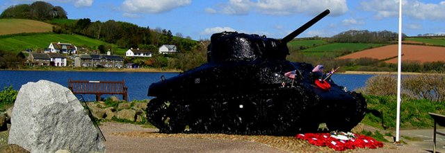 Exercise Tiger Memorial, Slapton Sands