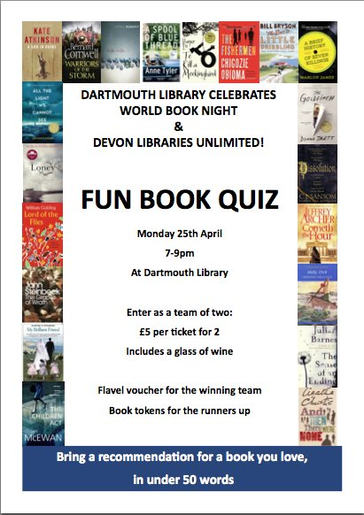 Devon Libraries Fun Book Quiz