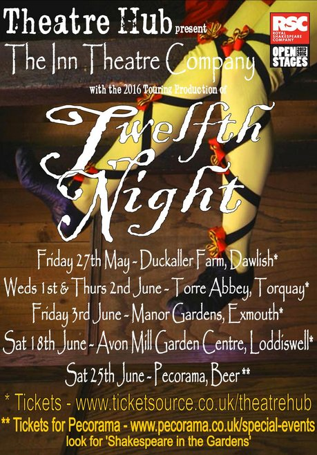 Twelth Night presented by Theatre Hub