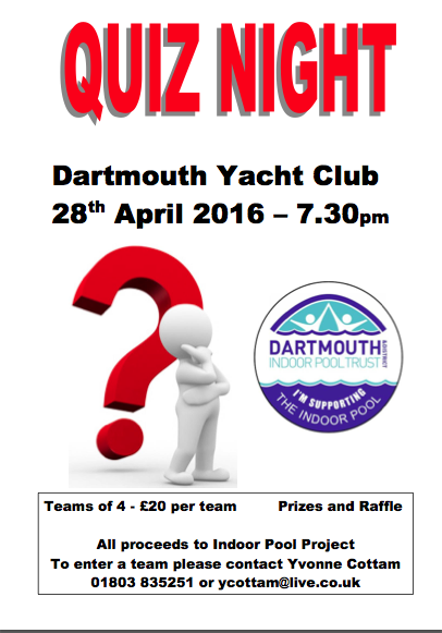 quiz night dartmouth pool