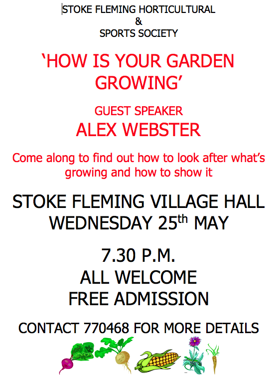 "'How is your garden growing? "" Talk"