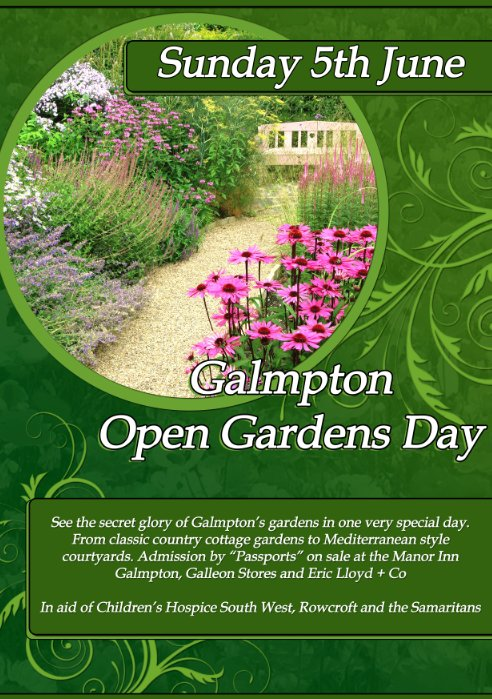 Galmpton Open Gardens Day