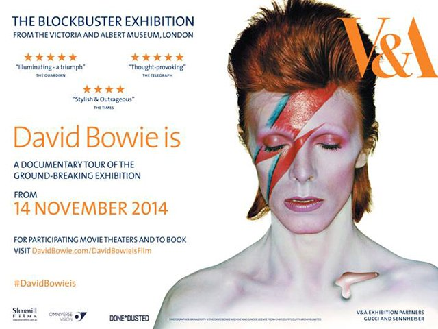 EXHIBITION ON SCREEN: DAVID BOWIE (PG)