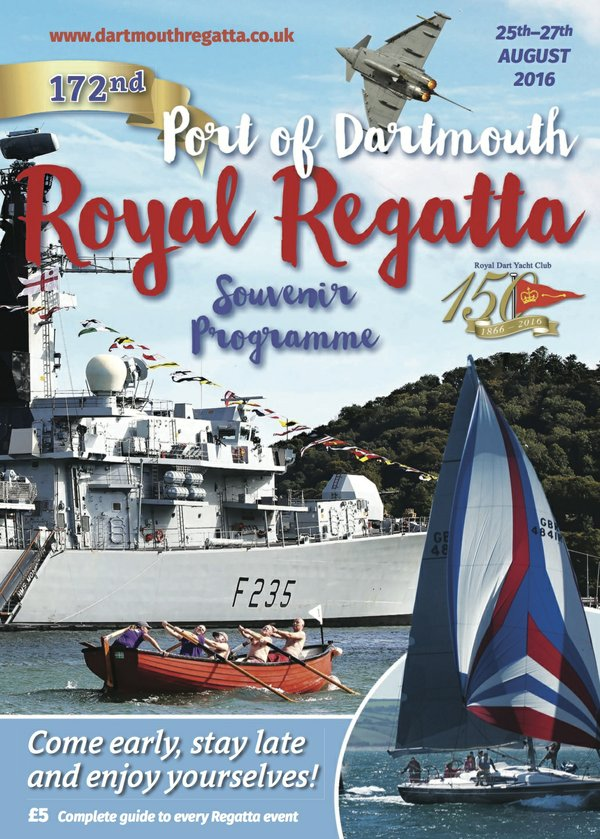 Dartmouth Regatta 2016 Programme