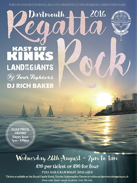 dartmouth regatta rock 2016