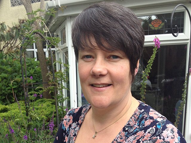 Kym Paddon, Manager of Northerhay Care Home, Dartmouth