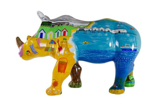 Paignton by Numbers rhino