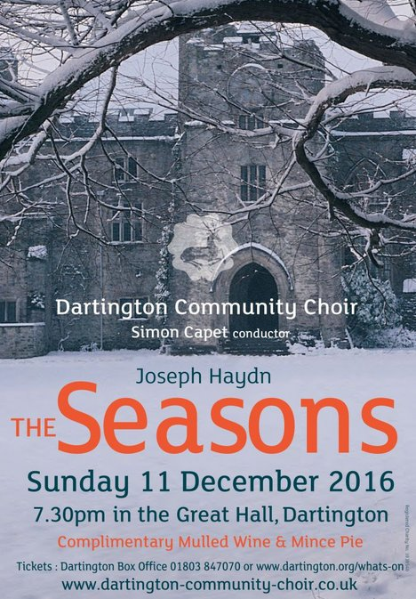 Dartington Community Choir: Hadyn, The Seasons